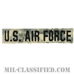U.S.AIR FORCE [UCP(ACU)/ブラック刺繍/空軍ネームテープ/ベルクロ付パッチ]の画像