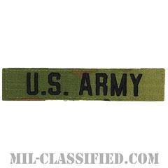 U.S.ARMY [OCP/ブラック刺繍/ネームテープ/ベルクロ付パッチ]画像