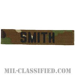 SMITH [OCP/ブラック刺繍/ネームテープ/ベルクロ付パッチ]の画像