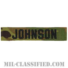 JOHNSON [OCP/ブラック刺繍/ネームテープ/ベルクロ付パッチ]の画像