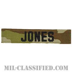 JONES [OCP/ブラック刺繍/ネームテープ/ベルクロ付パッチ]の画像