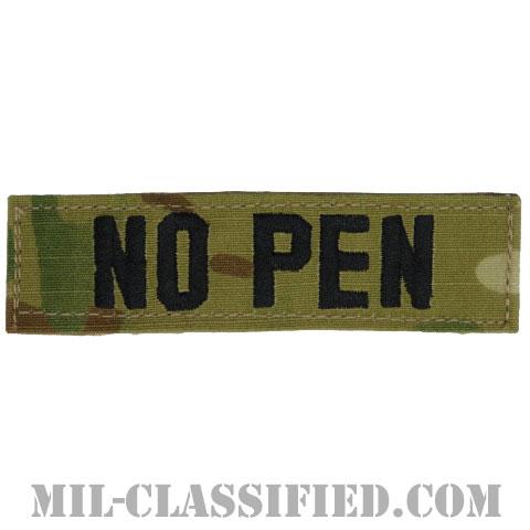 NO PEN(抗生物質ペニシリン使用不可) [OCP/ブラック刺繍/血液型テープ/ベルクロ付パッチ]の画像