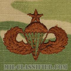 空挺章 (シニア)(Parachutist Badge, Senior, Senior)[OCP/ブラウン刺繍/パッチ]の画像