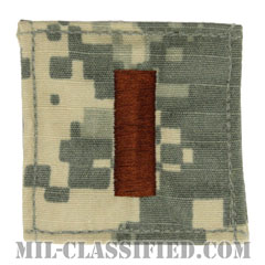 少尉(Ensign)[UCP(ACU)/海軍階級章/ベルクロ付パッチ]の画像