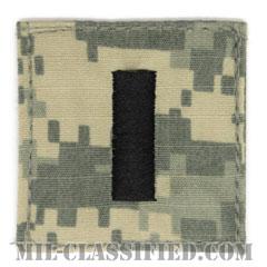 中尉(Lieutenant Junior Grade)[UCP(ACU)/海軍階級章/ベルクロ付パッチ]の画像