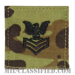 一等兵曹(Petty Officer First Class)[OCP/海軍階級章/ベルクロ付パッチ]の画像