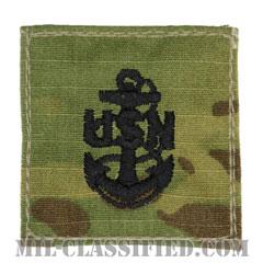 上等兵曹(Chief Petty Officer)[OCP/海軍階級章/ベルクロ付パッチ]の画像