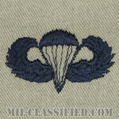 空挺章 (ベーシック)(Parachutist Badge, Basic)[ABU/パッチ]の画像