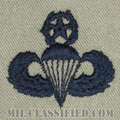 空挺章 (マスター)(Parachutist Badge, Master, Master)[ABU/パッチ]の画像