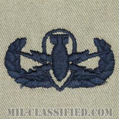 爆破物処理章 (ベーシック) (Explosive Ordnance Disposal (EOD), Badge, Basic)[ABU/パッチ]の画像