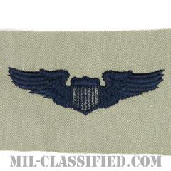 航空機操縦士章 (パイロット)(Air Force Pilot Badge)[ABU/パッチ]の画像