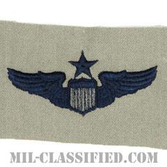 航空機操縦士章 (シニア・パイロット)(Air Force Senior Pilot Badge)[ABU/パッチ]の画像