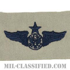 航空機搭乗員章 (下士官用シニア・エアクルー)(Air Force Enlisted Senior Aircrew Badge)[ABU/パッチ]の画像