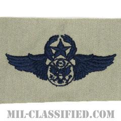 航空機搭乗員章 (下士官用マスター・エアクルー)(Air Force Enlisted Master Aircrew Badge)[ABU/パッチ]の画像