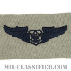 航空機搭乗員章 (将校用エアクルー)(Air Force Officer Aircrew Badge)[ABU/パッチ]の画像