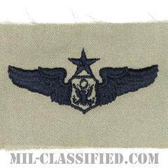 航空機搭乗員章 (将校用シニア・エアクルー)(Air Force Officer Senior Aircrew Badge)[ABU/パッチ]の画像