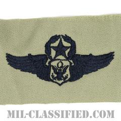 航空機搭乗員章 (将校用マスター・エアクルー)(Air Force Officer Master Aircrew Badge)[ABU/パッチ]の画像