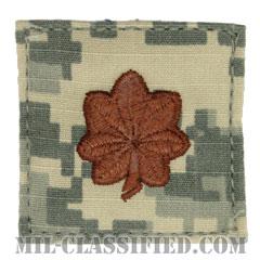 少佐(Major (MAJ))[UCP(ACU)/空軍階級章/ベルクロ付パッチ]の画像