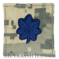中佐(Lieutenant Colonel (LTC))[UCP(ACU)/空軍階級章/ブルー刺繍/ベルクロ付パッチ]の画像