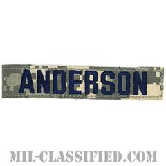 ANDERSON [UCP(ACU)/ブルー刺繍/空軍ネームテープ/ベルクロ付パッチ]の画像