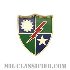 第75レンジャー連隊(75th Ranger Regiment)[カラー/クレスト(Crest・DUI・DI)バッジ]の画像