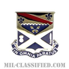 第81歩兵連隊(18th Infantry Regiment)[カラー/クレスト(Crest・DUI・DI)バッジ]の画像
