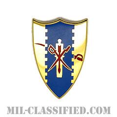 第4騎兵連隊(4th Cavalry Regiment)[カラー/クレスト(Crest・DUI・DI)バッジ]の画像