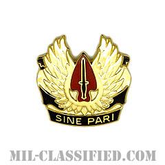 陸軍特殊作戦コマンド(ODL:〜2013)(U.S. Army Special Operations Command)[カラー/クレスト(Crest・DUI・DI)バッジ]の画像