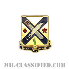 第2歩兵連隊(2nd Infantry Regiment)[カラー/クレスト(Crest・DUI・DI)バッジ]の画像