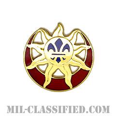 第9歩兵師団(9th Infantry Division)[カラー/クレスト(Crest・DUI・DI)バッジ]の画像