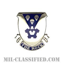 第503歩兵連隊(503rd Infantry Regiment)[カラー/クレスト(Crest・DUI・DI)バッジ]の画像