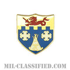 第12歩兵連隊(12th Infantry Regiment)[カラー/クレスト(Crest・DUI・DI)バッジ]の画像