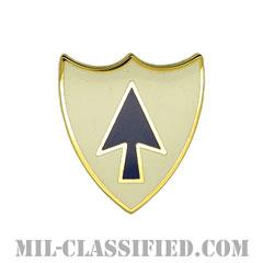 第26歩兵連隊(26th Infantry Regiment)[カラー/クレスト(Crest・DUI・DI)バッジ]の画像