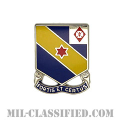 第52歩兵連隊(52nd Infantry Regiment)[カラー/クレスト(Crest・DUI・DI)バッジ]の画像