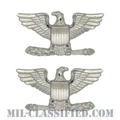 大佐(Colonel (COL))[カラー/階級章/バッジ/ペア(2個1組)]の画像