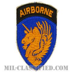 第13空挺師団(13th Airborne Division)[カラー/カットエッジ/エアボーンタブ付ワンピースタイプ/パッチ/レプリカ]の画像