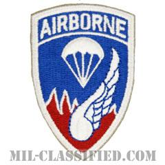 第187空挺歩兵連隊/第187空挺戦闘団(187th Airborne Infantry Regiment)[カラー/カットエッジ/エアボーンタブ付ワンピースタイプ/パッチ/レプリカ]の画像