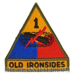 第1機甲師団(1st Armored Division)[カラー/カットエッジ/パッチ/レプリカ]の画像