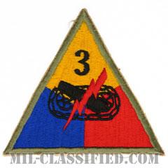 第3機甲師団(3rd Armored Division)[カラー/カットエッジ/パッチ/レプリカ]の画像
