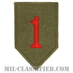 第1歩兵師団(1st Infantry Division)[カラー/カットエッジ/パッチ/レプリカ]の画像