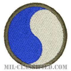 第29歩兵師団(29th Infantry Division)[カラー/カットエッジ/パッチ/レプリカ]の画像