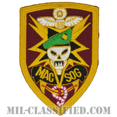 MACV-SOG(Military Assistance Command, Vietnam, Studies and Observations Group)[カラー/カットエッジ/パッチ/レプリカ]画像