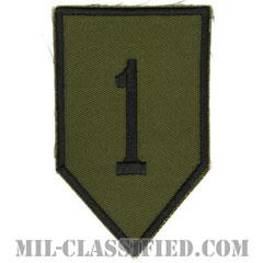 第1歩兵師団(1st Infantry Division)[サブデュード/カットエッジ/パッチ/レプリカ]画像