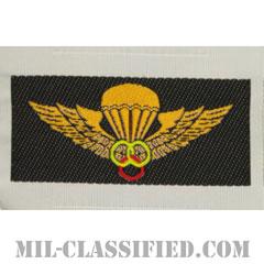 南ベトナム軍インストラクター空挺章 (ベーシック)(RVN Instructor Parachutist Badge, Basic)[カラー/織刺繍(Bevo, Woven)/パッチ/レプリカ]の画像