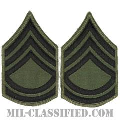 一等軍曹(Sergeant First Class (SFC))[サブデュード/カットエッジ/ペア(2枚1組)/パッチ/レプリカ]の画像