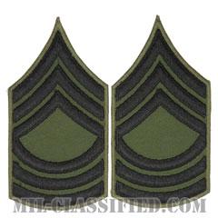 曹長(Master Sergeant (MSG))[サブデュード/カットエッジ/ペア(2枚1組)/パッチ/レプリカ]の画像