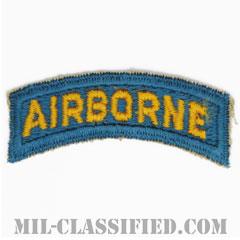 エアボーンタブ(Airborne Tab)[カラー(ティールブルー)/カットエッジ/パッチ/レプリカ]の画像