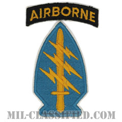 特殊部隊群(Special Forces Group)[カラー/カットエッジ/エアボーンタブ付/パッチ/レプリカ]の画像
