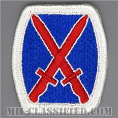 第10山岳師団(10th Mountain Division)[カラー/メロウエッジ/パッチ]の画像