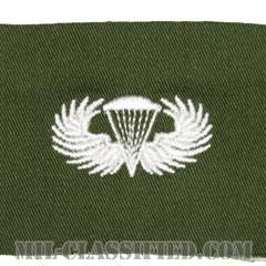 空挺章 (ベーシック)(Parachutist Badge, Basic)[カラー/パッチ/レプリカ]の画像